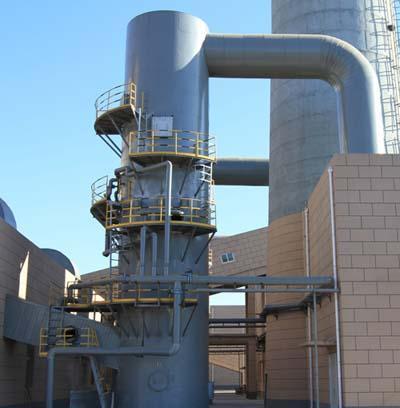 配套脱硫除尘系统--脱硫塔