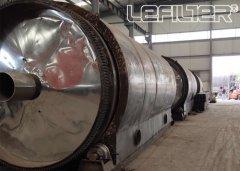 10吨废塑料炼油设备