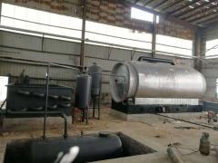 12吨废弃亚克力炼油设备