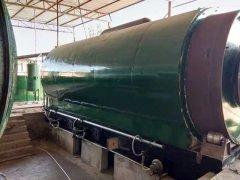 日处理10吨废旧轮胎炼油设备