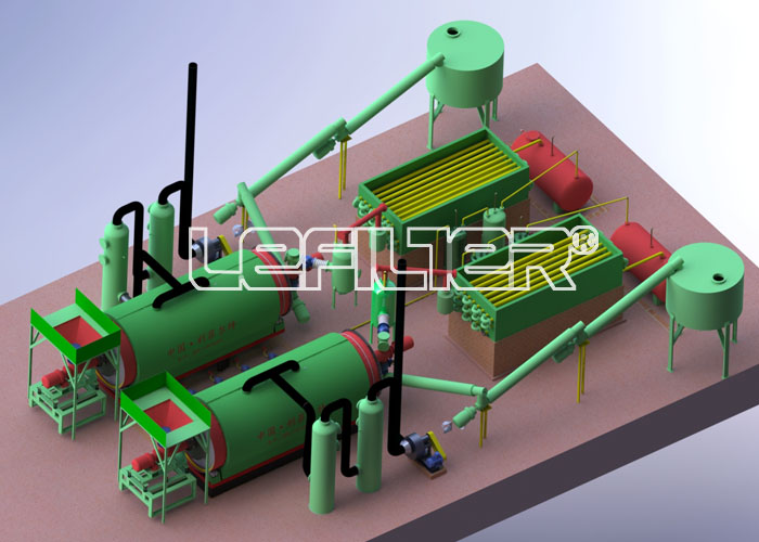 胶粉炼油设备