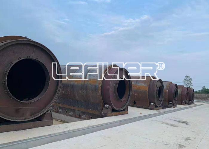 安阳某地年处理20万吨废旧轮胎炼
