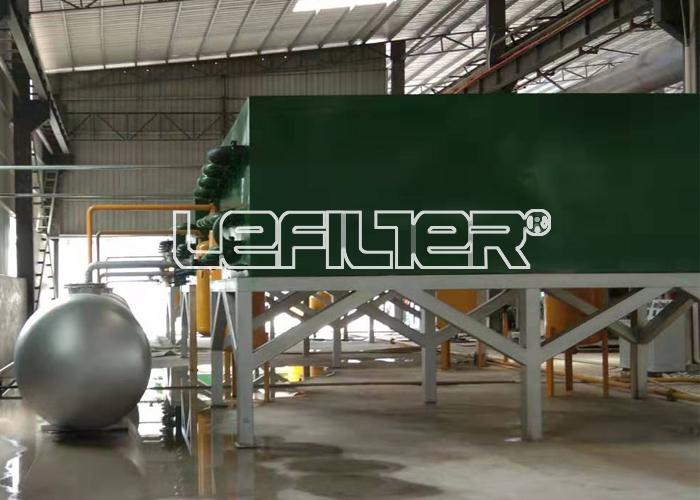 2200*6600  6吨废塑料炼油设备
