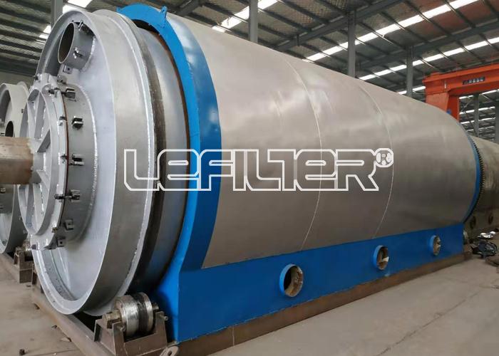 江西地区废轮胎胶粉炼油项目