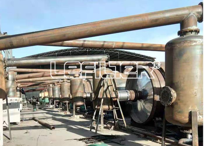 湖南地区年处理量10万吨废轮胎炼油项目
