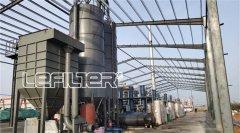 铝塑炼油设备云南现场_利菲尔特铝塑裂解现场