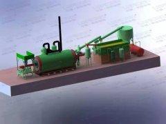 建一个废轮胎炼油厂需要多大面积?
